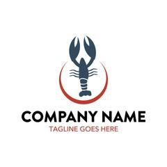 Unique Lobster Logo Template