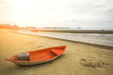Sam Roi Yot beach in the morning.