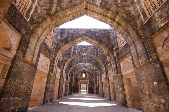 Jahaz Mahal , Ship Palace in Mandu, Madhya Pradesh, India