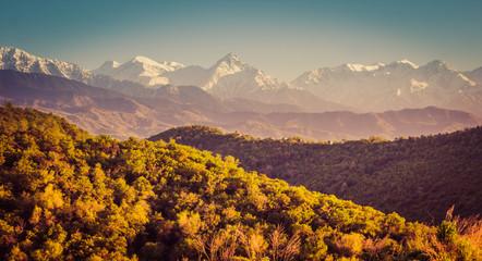 Mountains landscape, Tien-Shan Mountains, Almaty, Kazakhstan