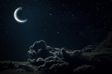 Wall Murals Night night sky