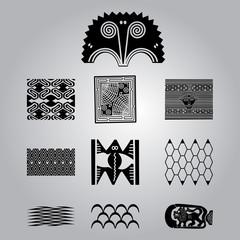 African national ethnic symbols