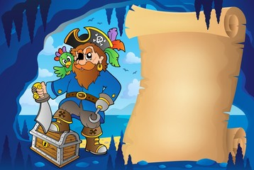 Parchment in pirate cave image 5