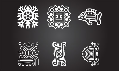 American Indians National Ethnic symbols