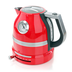 Red electrical kettle