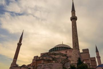 Sunset in Istambul, Turkey.
