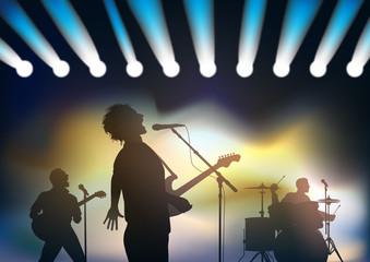 concert - concert rock - musique - festival - fête de la musique - groupe de rock - spectacle