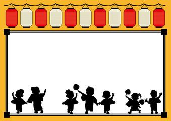 盆踊りフレームA