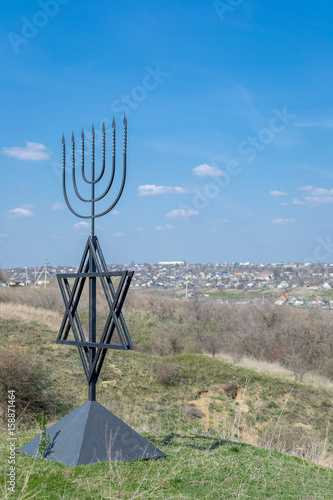 The Menorah Is A Symbol Of Judaism The National Religious Sign Of