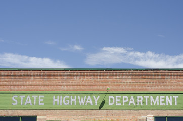 State Highway Department Building and Sky