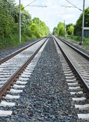 Bahngleise, Schienen