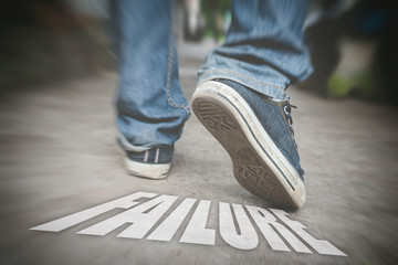 Sneakers Walk away from failure