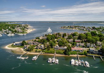 Aerial of Cape Cod