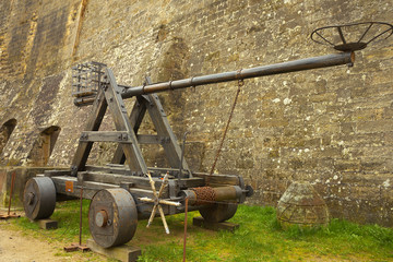 Exhibit of catapult