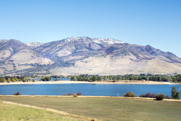 Utah Rocky Mountains in northern utah near salt lake city and ogden