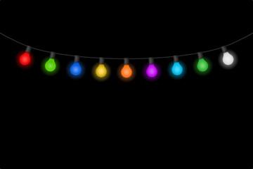 lichterkette glühbirnen I