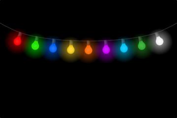 lichterkette glühbirnen II