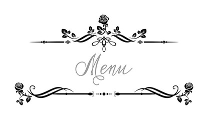 Event roses frame