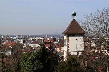 Schwabentor in Freiburg, Germany