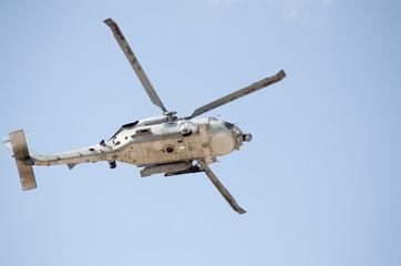 Black hawk helicopter rescue team down radar avionics view