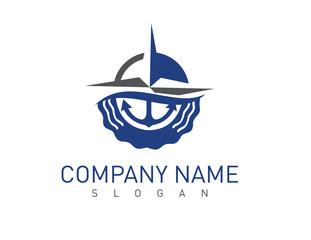 Marine concept logotype
