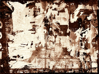 Grunge background or abstract texture Decorative vintage backdrop collage or modern distressed grungy retro creative graphic design art element