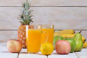 Рецепт приготовления фруктового сока