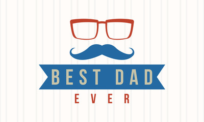 Background style of father day card