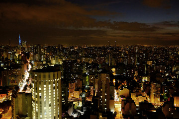 General view shows the city of Sao Paulo, which has a sprawling metropolitan area of nearly 20 million people