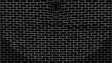 black brick wall texture seamless pattern, abstract background, black metro bricks texture seamless, modern stone black brick wall texture and background