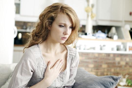 Asthma, woman