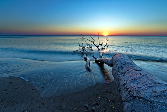 Weststrand Sunset 1
