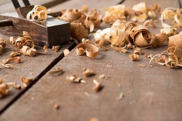 wood and carpenter tools