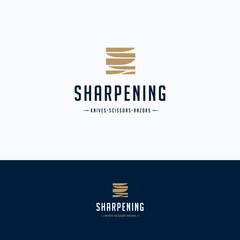 Sharpening service logo