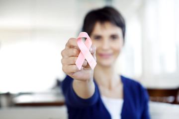 Breast cancer, symbol