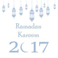 Ramadan Kareem Islamic background. Vector illustration