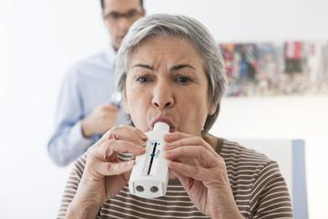 Breathing, spirometry elderly p