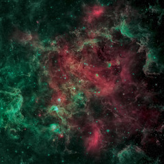The North America nebula in the constellation Cygnus. Elements of this Image Furnished by NASA