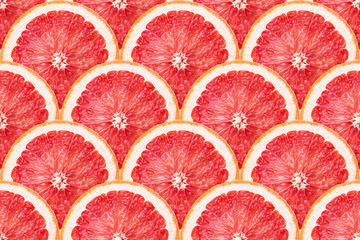 grapefruit slices seamless
