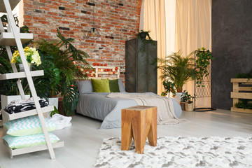 Spacious, ecological bedroom