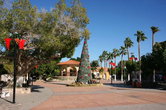 Christmas time in Loreto, Baja California Sur, Mexico