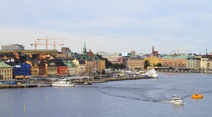 Gamla Stan Old town in Stockholm, Sweden, Scandinavia