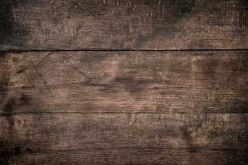 Rustic wood planks background