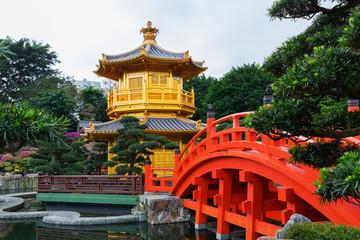 Nan Lian Garden Pavilion in Hong Kong