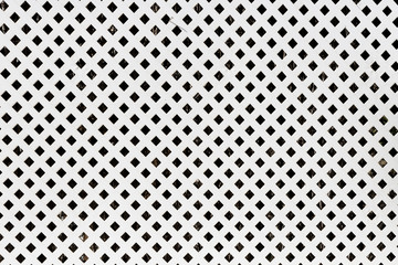 background white wooden lattice. square pattern
