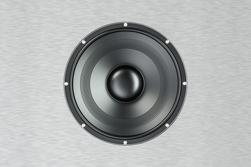 loudspeaker, 3D rendering