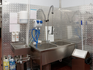 Modern dishwashing room