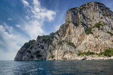 falaise de Capri