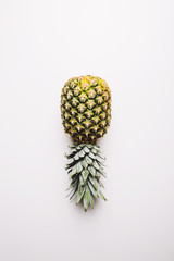 Pineapple isolated from above