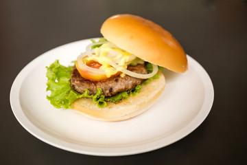 Pork hamburger